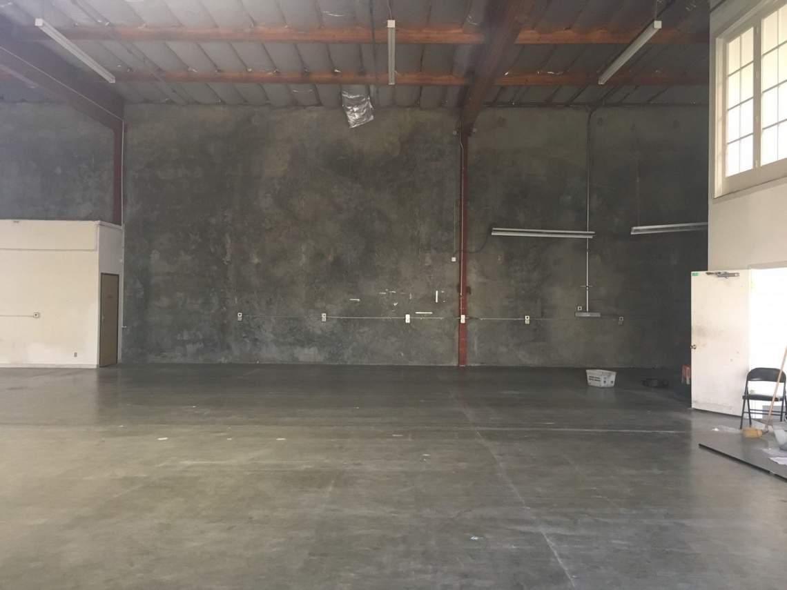 Hangar-interior
